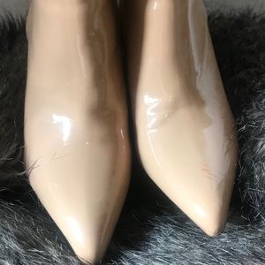 Forever 21 Patent Leather Ankle Boots 6.5